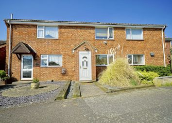 Thumbnail 3 bed terraced house for sale in Gordon Close, Little Paxton, St. Neots