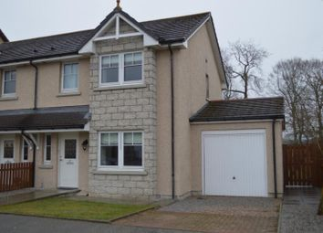 Thumbnail 3 bed semi-detached house to rent in Beverley Road, Inverurie