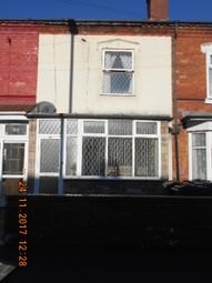 Thumbnail 3 bed terraced house for sale in Burlington Road, Small Heath