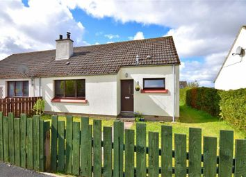 Thumbnail 1 bed semi-detached bungalow for sale in The Haughs, Cromdale, Grantown-On-Spey