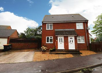 Thumbnail 1 bed semi-detached house for sale in Westwood Close, Shortstown