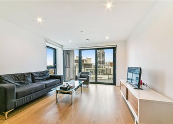 Thumbnail 2 bedroom flat to rent in Horizons Tower, 1 Yabsley Street, London