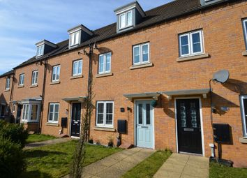 Thumbnail 3 bed town house for sale in Oulton Road, Caldecott Manor, Rugby