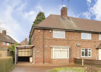 2 bed semi-detached house for sale in Western Boulevard, Whitemoor, Nottinghamshire NG8