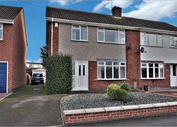 Thumbnail 3 bedroom semi-detached house for sale in Park Road, Sapcote