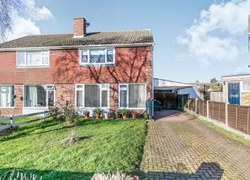 Thumbnail 2 bed semi-detached house for sale in Sparrow Road, Great Cornard, Sudbury