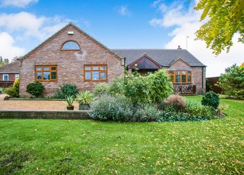 Thumbnail 3 bed detached bungalow for sale in Plash Drove, Wisbech St. Mary, Wisbech