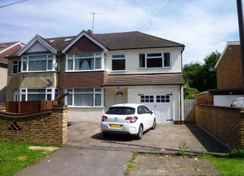 Thumbnail 5 bed semi-detached house for sale in Old Kingston Road, Worcester Park, Surrey.