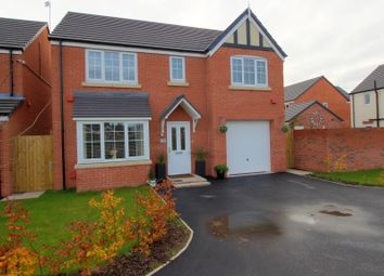 Thumbnail 5 bed detached house for sale in Argent Close, Shavington, Crewe