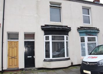 Thumbnail 2 bed terraced house for sale in Bow Street, Middlesbrough