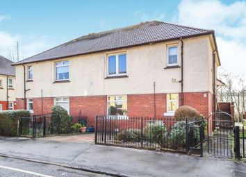 Thumbnail 2 bed flat for sale in Overton Road, Cambuslang, Glasgow