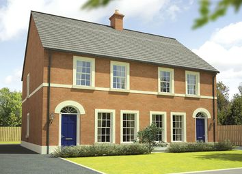 Thumbnail 3 bedroom semi-detached house for sale in Glen Corr Meadows, Newtownabbey