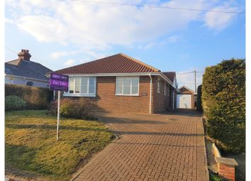 Thumbnail 3 bed detached bungalow for sale in Old Dover Road, Folkestone