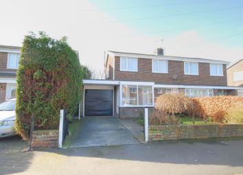 Thumbnail 3 bed semi-detached house for sale in The Gables, Widdrington, Morpeth