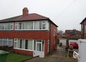 Thumbnail 3 bed semi-detached house to rent in Henconner Road, Leeds