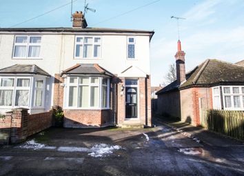 Thumbnail 3 bedroom semi-detached house for sale in Clifton Road, Dunstable