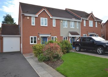 Thumbnail 3 bedroom town house for sale in Warners Drive, Weston Coyney, Stoke-On-Trent