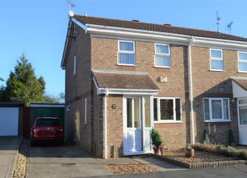 Thumbnail 2 bed semi-detached house for sale in Burch Close, King's Lynn