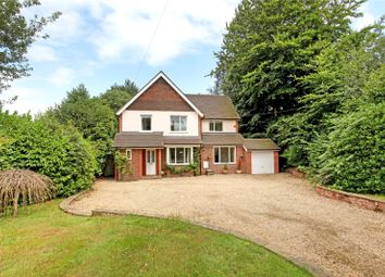 Thumbnail 4 bed detached house for sale in Wonham Way, Peaslake, Guildford, Surrey