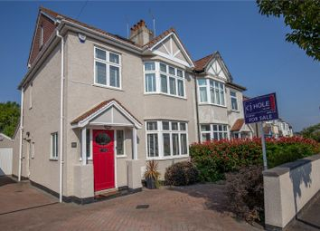 Thumbnail 4 bed semi-detached house for sale in Lake Road, Bristol