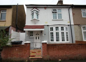 Thumbnail 3 bed semi-detached house to rent in Stanbrook Road, Northfleet, Kent