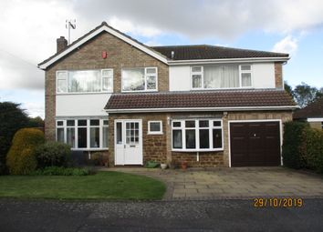 Thumbnail 5 bed detached house to rent in Buckingham Road, Oakham