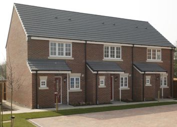 Thumbnail 2 bed town house for sale in Winchester Road, Blaby, Leicester