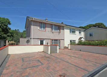 Thumbnail 3 bedroom semi-detached house for sale in Malmsbury Close, Ham, Plymouth