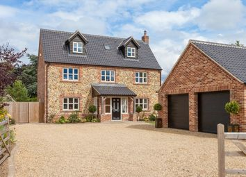 Thumbnail 5 bedroom detached house for sale in The Street, Caston, Attleborough