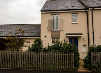 Thumbnail 3 bed end terrace house to rent in Sterling Way, Upper Cambourne, Cambridge