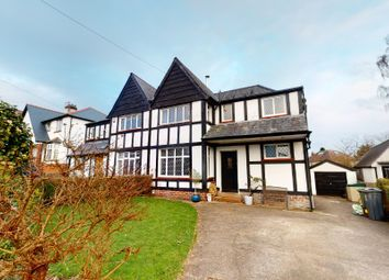 Thumbnail 4 bed semi-detached house for sale in Heol Y Coed, Rhiwbina, Cardiff