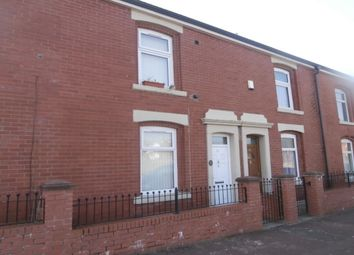 Thumbnail 3 bed terraced house to rent in Norman Street, Blackburn