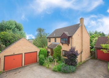 Thumbnail 4 bedroom detached house for sale in Sondes Close, Oundle