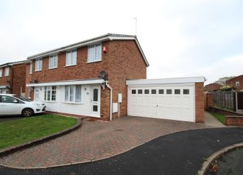 Thumbnail 2 bedroom semi-detached house for sale in Broadlands, Stretton, Burton-On-Trent
