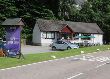 Thumbnail Restaurant/cafe for sale in Glen Rowan Cafe And Owners House, Skye Road, Invermoriston