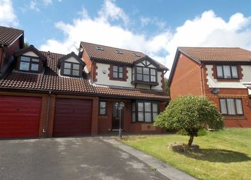 Thumbnail 4 bed link-detached house for sale in Wellfield, Beddau, Pontypridd