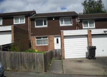 Thumbnail 3 bed town house to rent in Dudlestone Close, Leicester