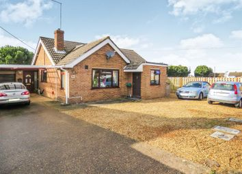 Thumbnail 3 bed detached bungalow for sale in Herne Road, Ramsey St. Marys, Ramsey, Huntingdon