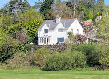Thumbnail 3 bed detached house for sale in Morfa Bychan, Porthmadog, Gwynedd