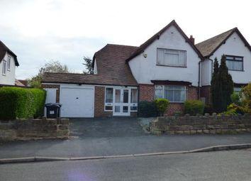 Thumbnail 3 bed detached house for sale in Hazelhurst Road, Kings Heath, Birmingham, West Midlands