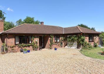 Thumbnail 4 bed detached bungalow for sale in School Corner, Cratfield, Halesworth
