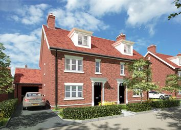 Thumbnail 4 bed semi-detached house for sale in Stoneham Lane, Eastleigh, Hampshire