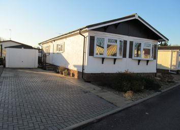 Thumbnail 2 bed mobile/park home for sale in Beauford Park, Norton Fitzwarren (Ref 5498), Taunton, Somerset