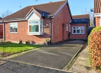 Thumbnail 3 bed bungalow for sale in Larchwood Avenue, Groby, Leicester