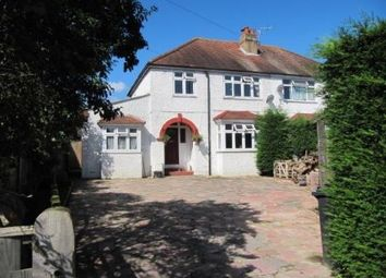 Thumbnail 4 bed semi-detached house for sale in Findon Road, Worthing, West Sussex