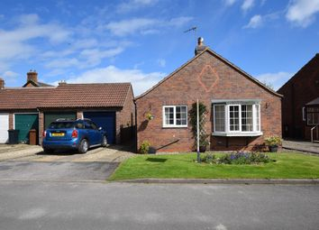Thumbnail 2 bed detached bungalow for sale in Middlefield Close, Weaverthorpe, Malton