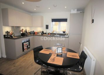 Thumbnail 1 bed flat for sale in Dakota Drive, Chatham