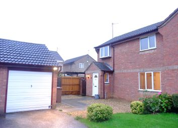 Thumbnail 3 bed semi-detached house for sale in Wycliffe Grove, Werrington, Peterborough