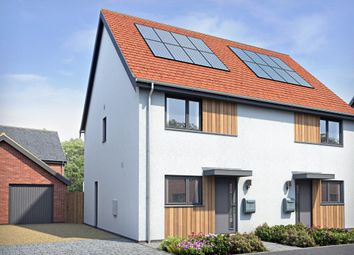 Thumbnail 2 bed semi-detached house for sale in Norwich Road, Hingham, Norwich