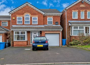 Thumbnail 4 bed detached house to rent in Swallow Close, Huntington, Cannock